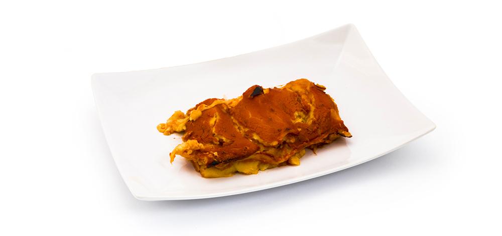 Lasagna al forno con pomodoro semplice